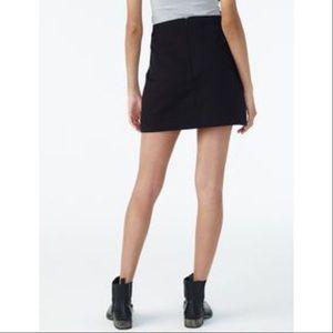 Armani exchange skirt pencil career xs knit black